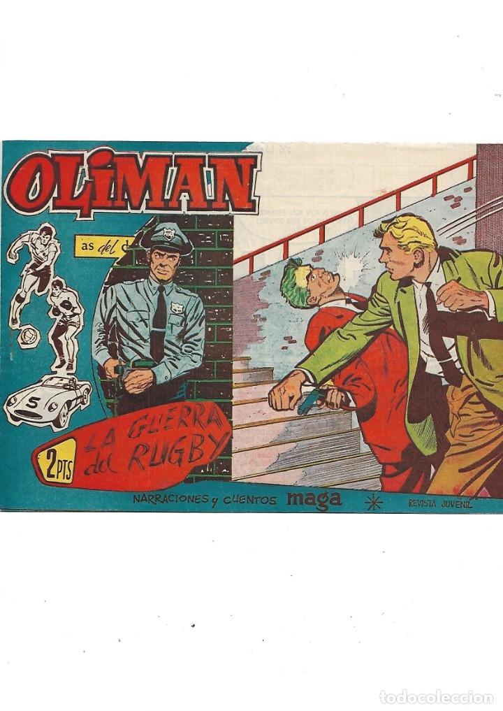 Tebeos: Oliman As del Deporte Colección Completa son 105 tebeos + Almanaque de cromos de la seleción de 1964 - Foto 57 - 175199449