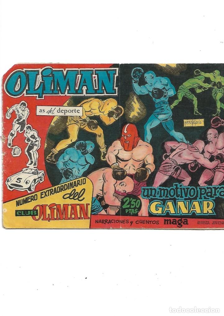 NÚMERO EXTRAORDINARIO DEL CLUB OLIMAN AÑO 1963 COLECCIÓN COMPLETA SON 24 TEBEOS ORIGINALES NUEVOS (Tebeos y Comics - Maga - Oliman)