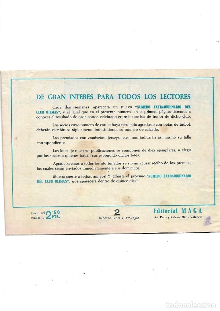 Tebeos: Número Extraordinario del Club Oliman Año 1963 Colección Completa son 24 Tebeos Originales nuevos - Foto 4 - 175218439