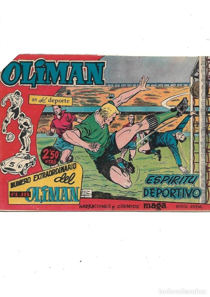 Tebeos: Número Extraordinario del Club Oliman Año 1963 Colección Completa son 24 Tebeos Originales nuevos - Foto 5 - 175218439
