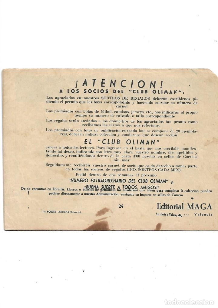 Tebeos: Número Extraordinario del Club Oliman Año 1963 Colección Completa son 24 Tebeos Originales nuevos - Foto 8 - 175218439