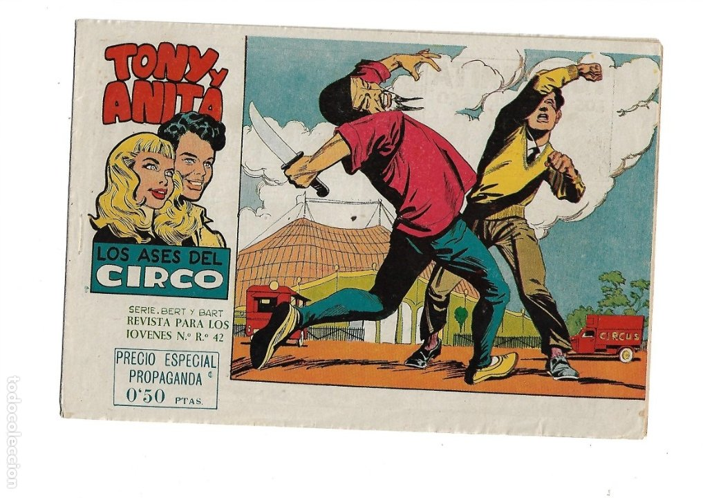 TONY Y ANITA 2ª EPOCA AÑO 1960 COLECCIÓN COMPLETA SON 81 TEBEOS ORIGINALES SUPERNUEVOS (Tebeos y Comics - Maga - Tony y Anita)