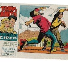 Tebeos: TONY Y ANITA 2ª EPOCA AÑO 1960 COLECCIÓN COMPLETA SON 81 TEBEOS ORIGINALES SUPERNUEVOS. Lote 175247798