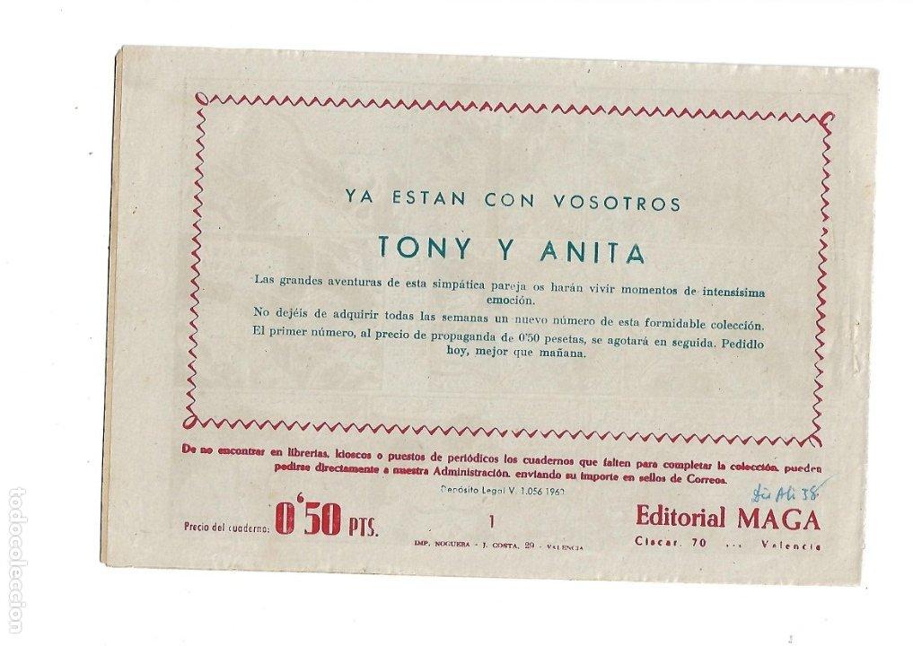 Tebeos: Tony y Anita 2ª Epoca Año 1960 Colección Completa son 81 Tebeos Originales Supernuevos - Foto 2 - 175247798