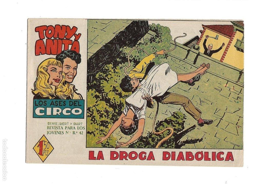Tebeos: Tony y Anita 2ª Epoca Año 1960 Colección Completa son 81 Tebeos Originales Supernuevos - Foto 3 - 175247798