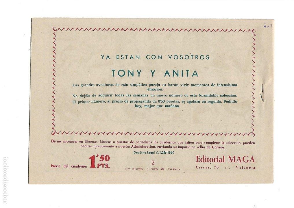 Tebeos: Tony y Anita 2ª Epoca Año 1960 Colección Completa son 81 Tebeos Originales Supernuevos - Foto 4 - 175247798