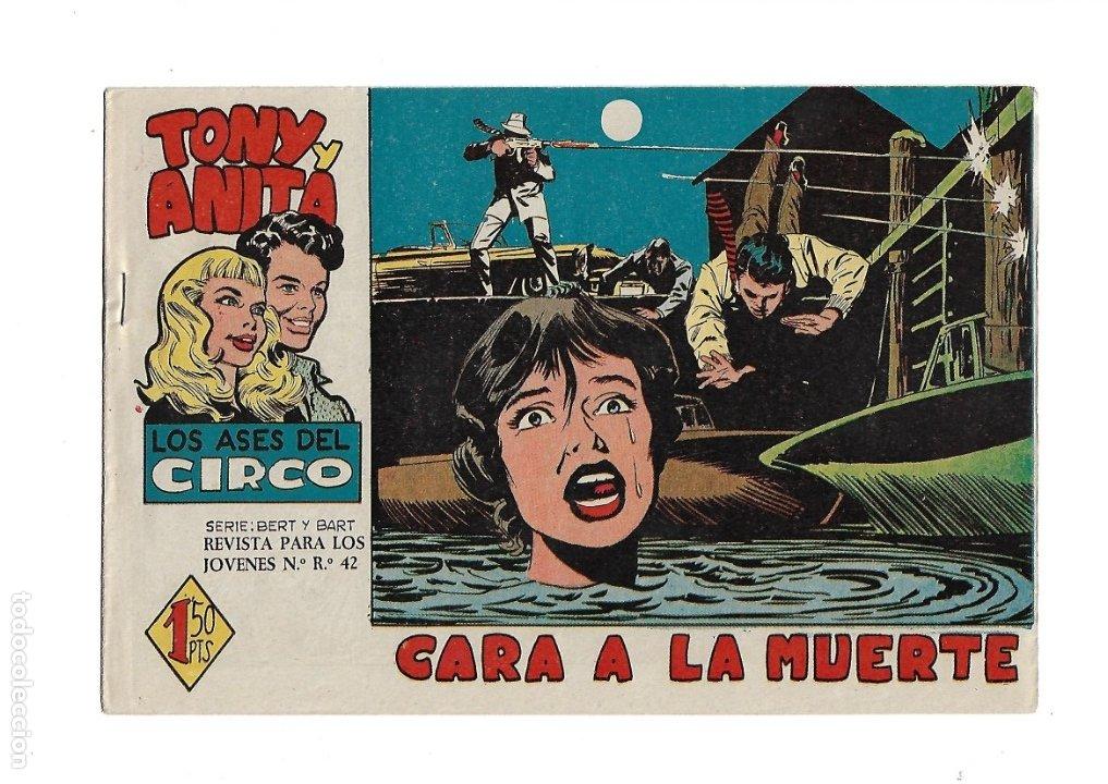Tebeos: Tony y Anita 2ª Epoca Año 1960 Colección Completa son 81 Tebeos Originales Supernuevos - Foto 5 - 175247798