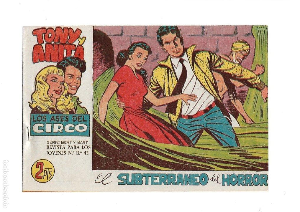 Tebeos: Tony y Anita 2ª Epoca Año 1960 Colección Completa son 81 Tebeos Originales Supernuevos - Foto 9 - 175247798