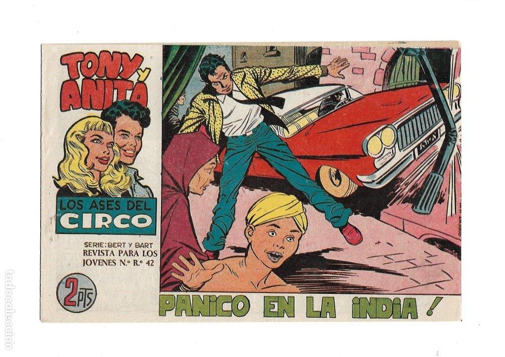 Tebeos: Tony y Anita 2ª Epoca Año 1960 Colección Completa son 81 Tebeos Originales Supernuevos - Foto 11 - 175247798