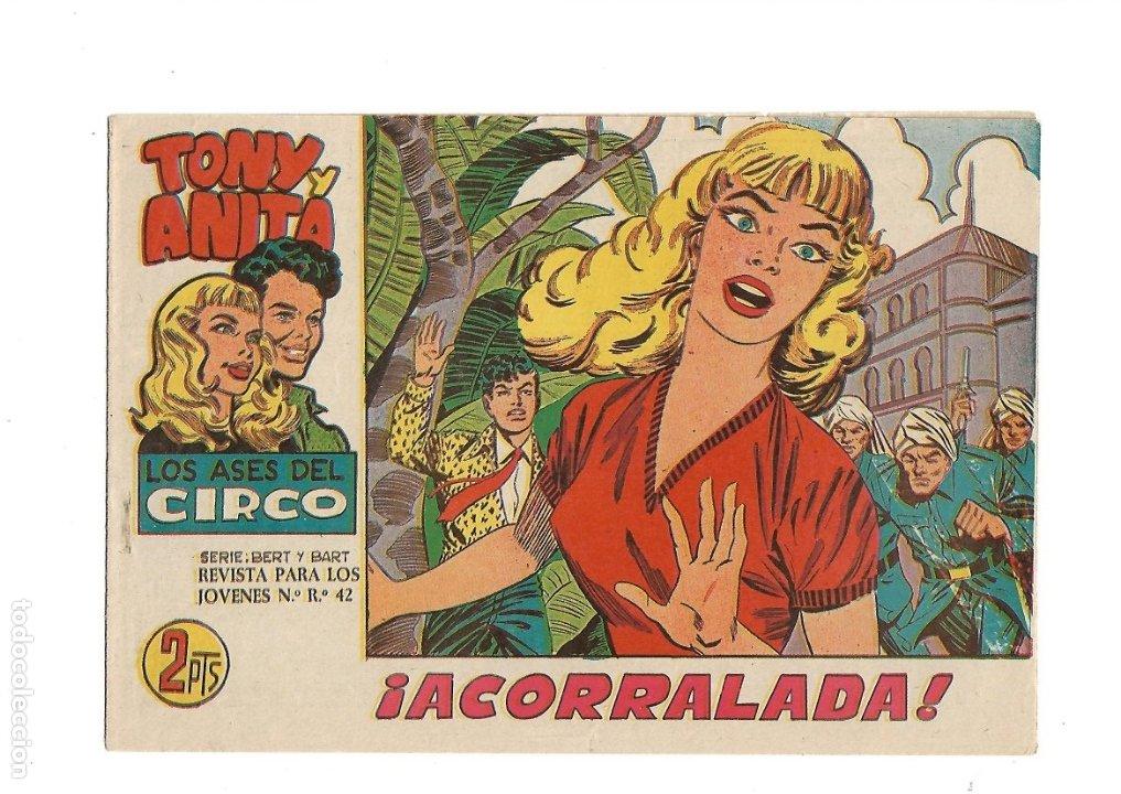 Tebeos: Tony y Anita 2ª Epoca Año 1960 Colección Completa son 81 Tebeos Originales Supernuevos - Foto 13 - 175247798