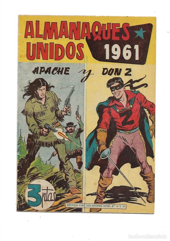 DON Z AÑO 1959 COLECCIÓN COMPLETA SON 90 TEBEOS ORIGINALES NUEVOS + ALMANAQUES UNIDOS 1961. (Tebeos y Comics - Maga - Don Z)