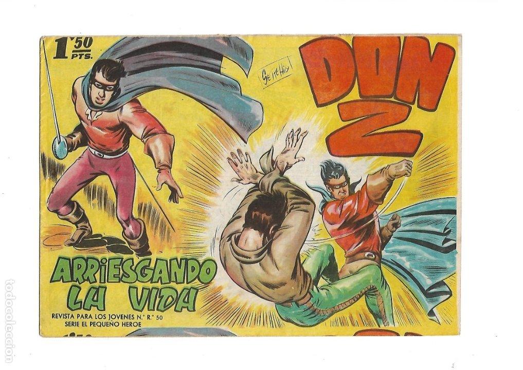 Tebeos: Don Z Año 1959 Colección Completa son 90 Tebeos Originales nuevos + Almanaques Unidos 1961. - Foto 5 - 175256648