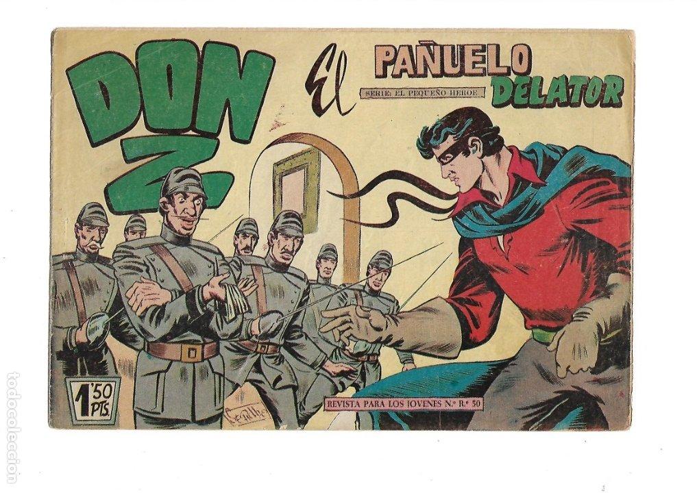 Tebeos: Don Z Año 1959 Colección Completa son 90 Tebeos Originales nuevos + Almanaques Unidos 1961. - Foto 7 - 175256648