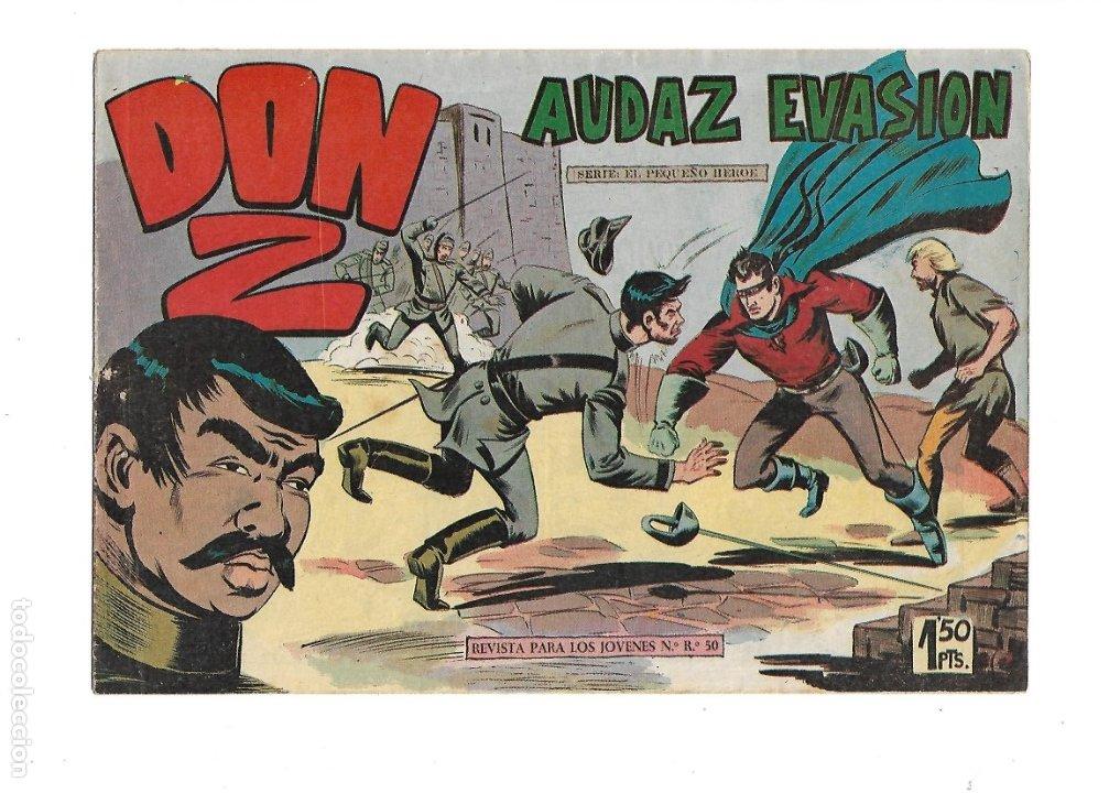 Tebeos: Don Z Año 1959 Colección Completa son 90 Tebeos Originales nuevos + Almanaques Unidos 1961. - Foto 9 - 175256648