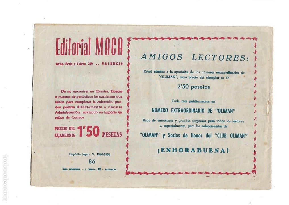 Tebeos: Don Z Año 1959 Colección Completa son 90 Tebeos Originales nuevos + Almanaques Unidos 1961. - Foto 17 - 175256648