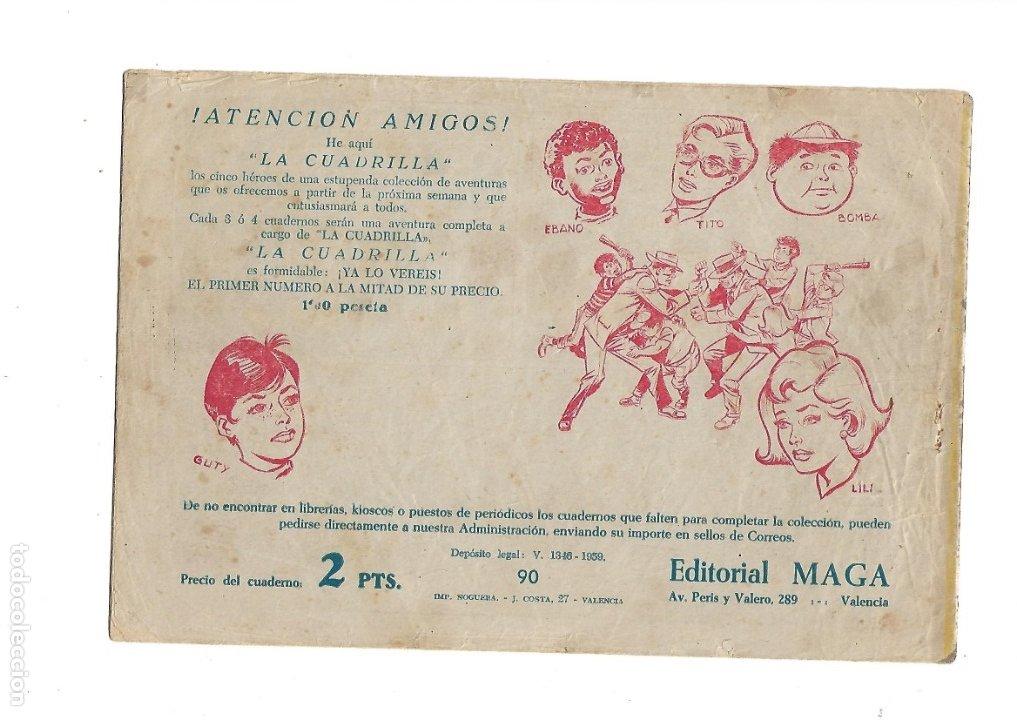 Tebeos: Don Z Año 1959 Colección Completa son 90 Tebeos Originales nuevos + Almanaques Unidos 1961. - Foto 19 - 175256648