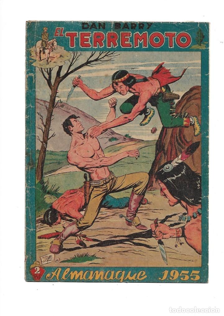 DAN BARRY EL TERREMOTO AÑO 1954 COLECCIÓN COMPLETA SON 76 TEBEOS ORIGINALES + 3 ALMANAQUES ORIGINALE (Tebeos y Comics - Maga - Dan Barry)