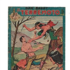 Tebeos: DAN BARRY EL TERREMOTO AÑO 1954 COLECCIÓN COMPLETA SON 76 TEBEOS ORIGINALES + 3 ALMANAQUES ORIGINALE. Lote 175262120