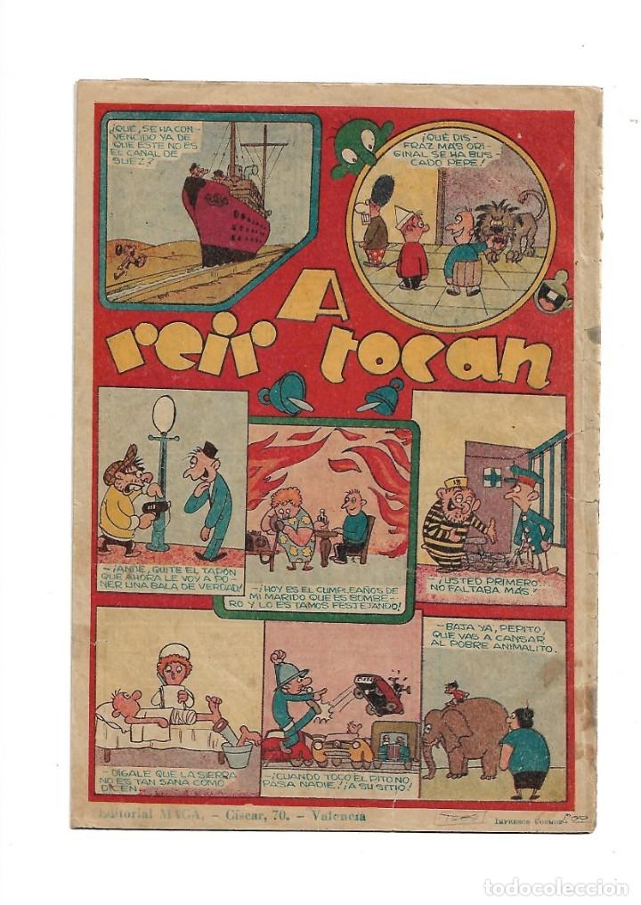 Tebeos: Dan Barry el Terremoto Año 1954 Colección Completa son 76 Tebeos Originales + 3 Almanaques Originale - Foto 2 - 175262120