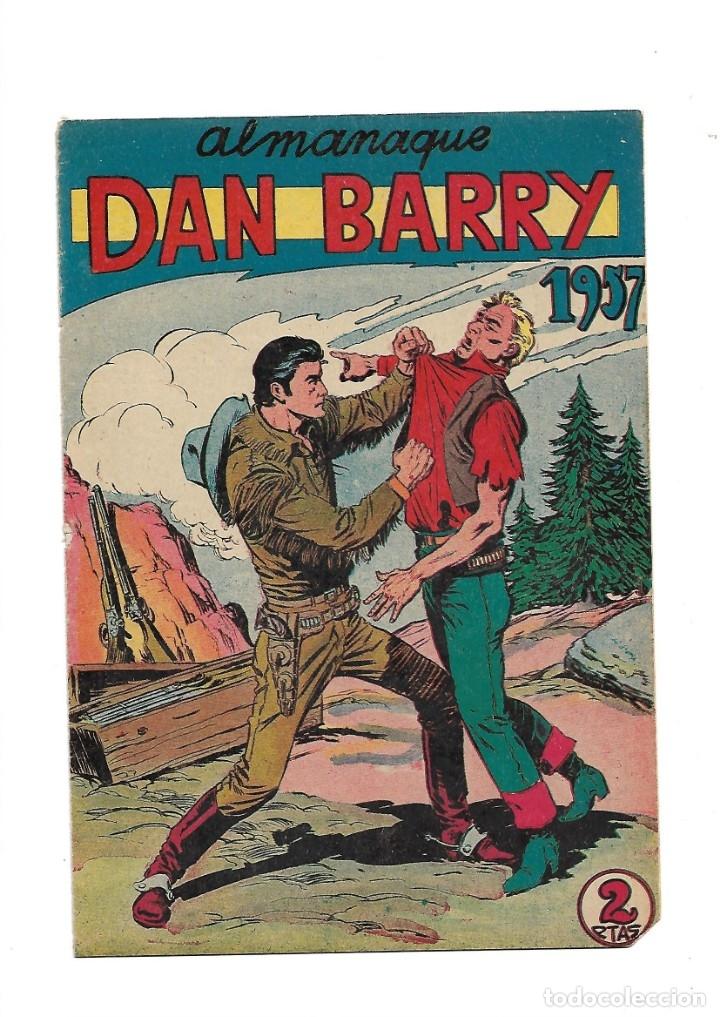 Tebeos: Dan Barry el Terremoto Año 1954 Colección Completa son 76 Tebeos Originales + 3 Almanaques Originale - Foto 3 - 175262120