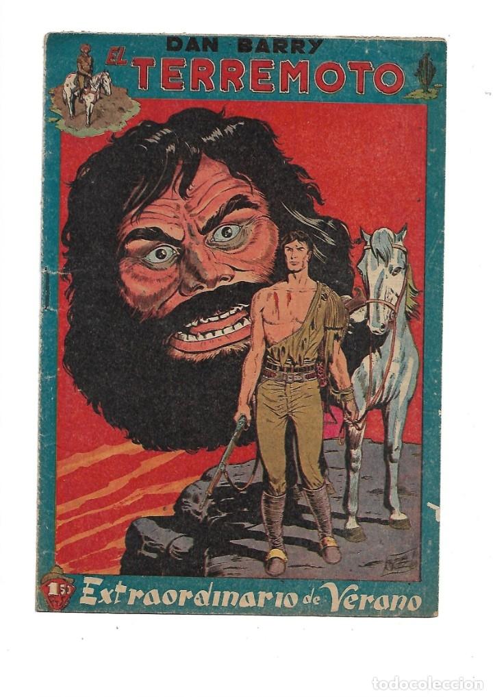 Tebeos: Dan Barry el Terremoto Año 1954 Colección Completa son 76 Tebeos Originales + 3 Almanaques Originale - Foto 5 - 175262120