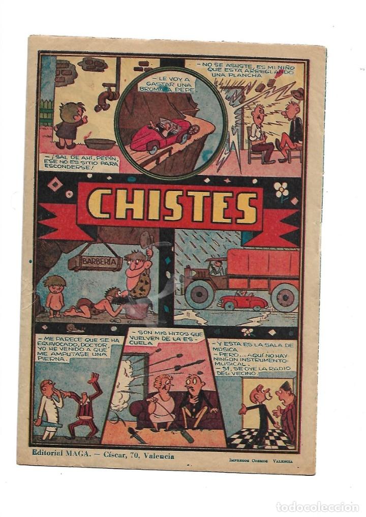 Tebeos: Dan Barry el Terremoto Año 1954 Colección Completa son 76 Tebeos Originales + 3 Almanaques Originale - Foto 6 - 175262120