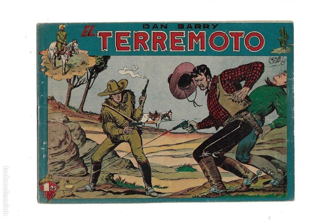 Tebeos: Dan Barry el Terremoto Año 1954 Colección Completa son 76 Tebeos Originales + 3 Almanaques Originale - Foto 7 - 175262120