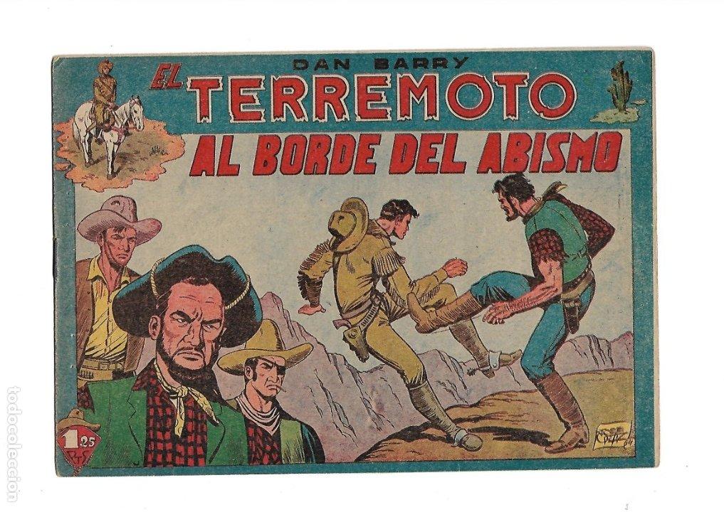 Tebeos: Dan Barry el Terremoto Año 1954 Colección Completa son 76 Tebeos Originales + 3 Almanaques Originale - Foto 9 - 175262120
