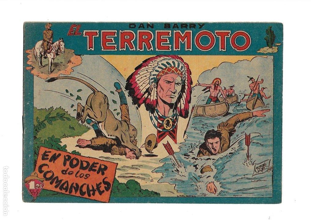 Tebeos: Dan Barry el Terremoto Año 1954 Colección Completa son 76 Tebeos Originales + 3 Almanaques Originale - Foto 11 - 175262120