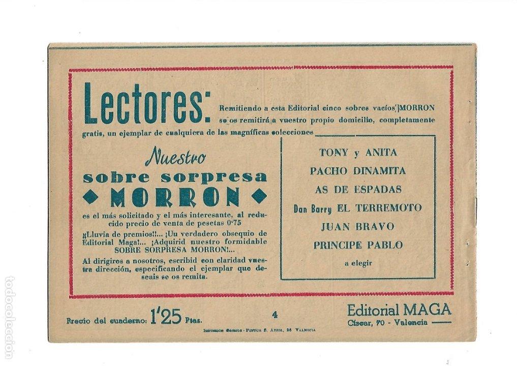 Tebeos: Dan Barry el Terremoto Año 1954 Colección Completa son 76 Tebeos Originales + 3 Almanaques Originale - Foto 14 - 175262120