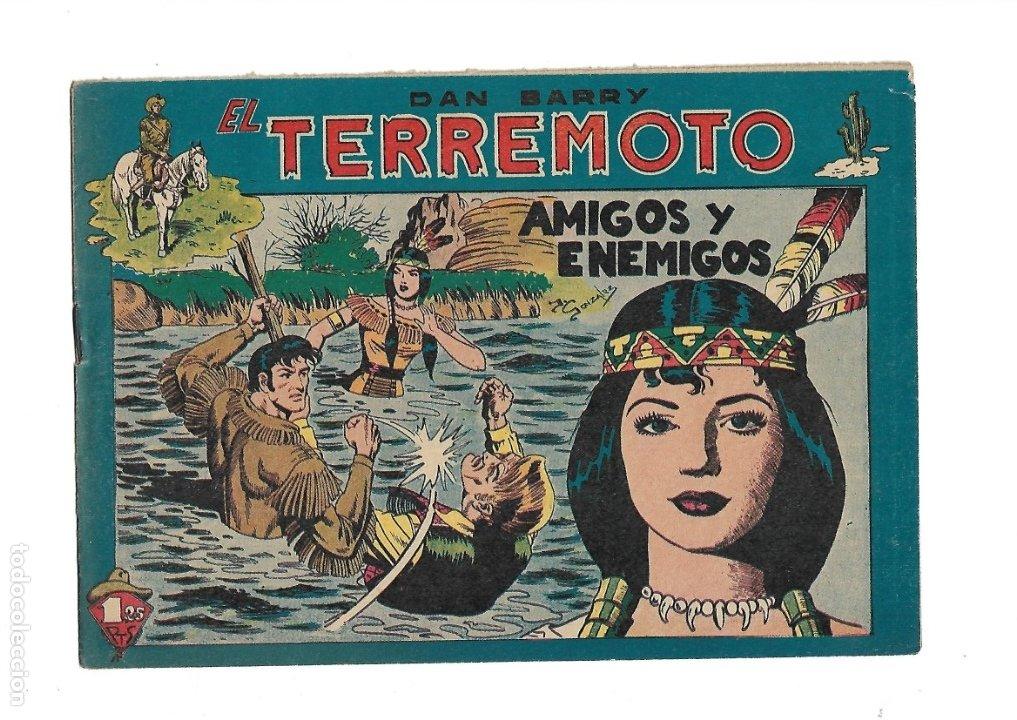 Tebeos: Dan Barry el Terremoto Año 1954 Colección Completa son 76 Tebeos Originales + 3 Almanaques Originale - Foto 15 - 175262120