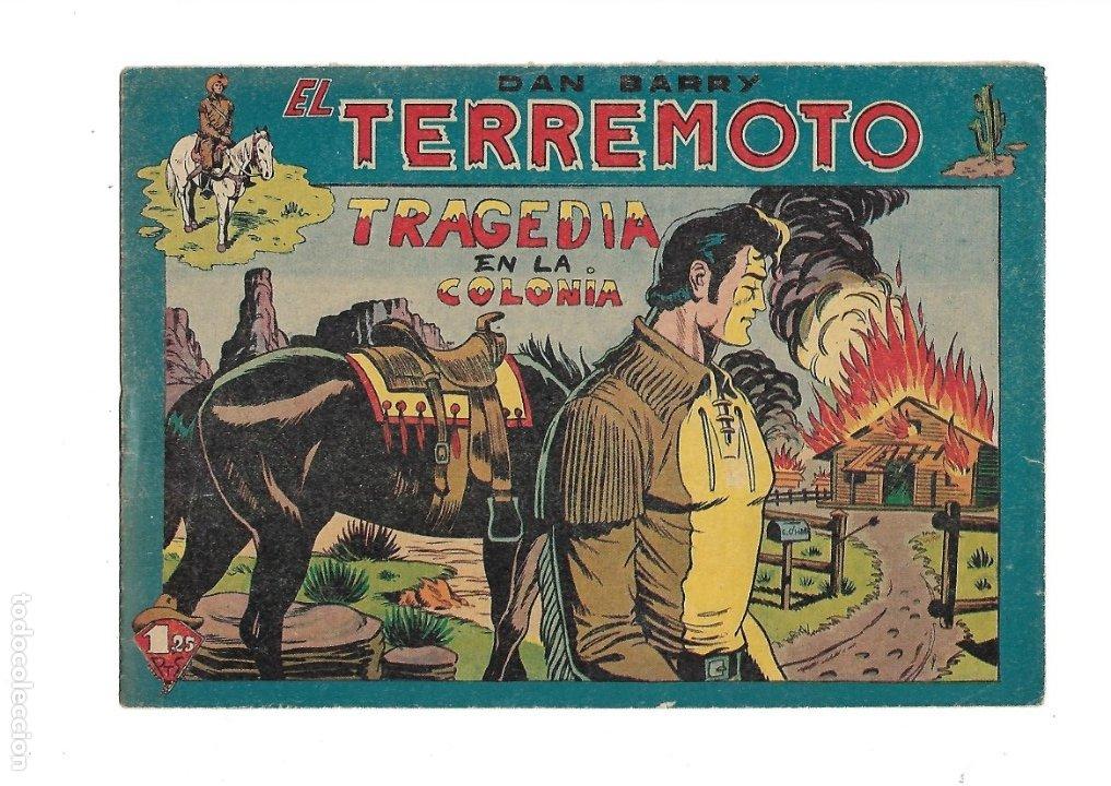 Tebeos: Dan Barry el Terremoto Año 1954 Colección Completa son 76 Tebeos Originales + 3 Almanaques Originale - Foto 17 - 175262120