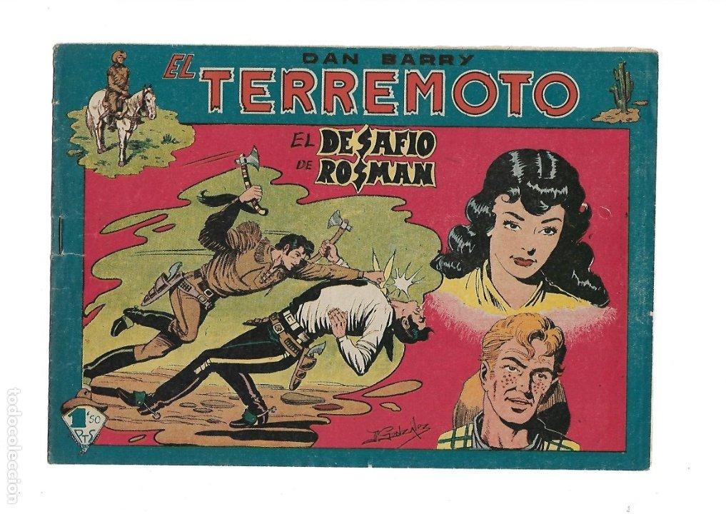 Tebeos: Dan Barry el Terremoto Año 1954 Colección Completa son 76 Tebeos Originales + 3 Almanaques Originale - Foto 19 - 175262120