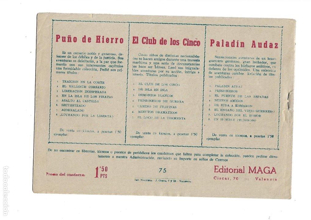 Tebeos: Dan Barry el Terremoto Año 1954 Colección Completa son 76 Tebeos Originales + 3 Almanaques Originale - Foto 20 - 175262120