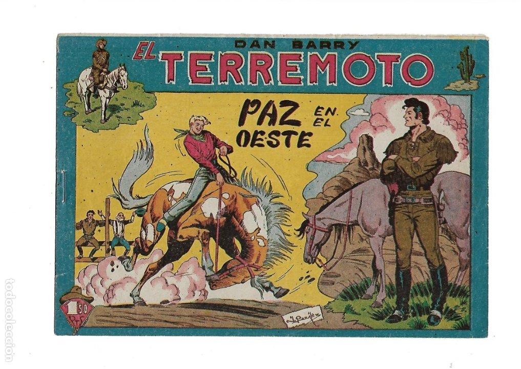 Tebeos: Dan Barry el Terremoto Año 1954 Colección Completa son 76 Tebeos Originales + 3 Almanaques Originale - Foto 21 - 175262120