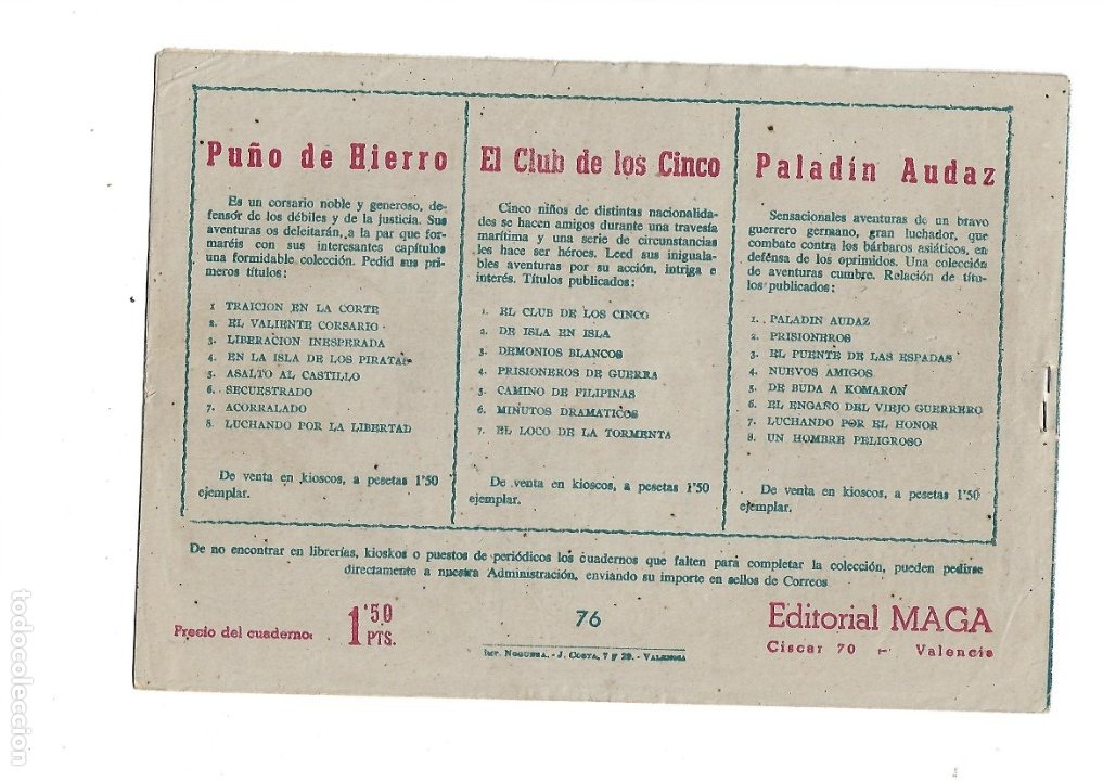 Tebeos: Dan Barry el Terremoto Año 1954 Colección Completa son 76 Tebeos Originales + 3 Almanaques Originale - Foto 22 - 175262120