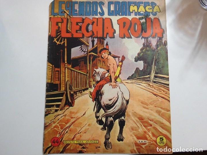 LEYENDAS GRAFICAS FLECHA ROJA (Tebeos y Comics - Maga - Don Z)