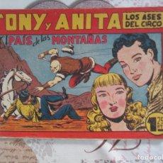 Tebeos: TONY Y ANITA Nº 72. Lote 175431654
