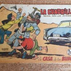Tebeos: LA CUADRILLA Nº 2 - LA CASA DE LOS BUHOS - MAGA, ORIGINAL - GCH. Lote 175498203