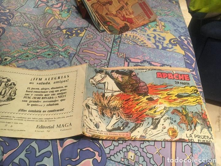 APACHE 2ª Nº 6 EDITORIAL MAGA 1957 ORIGINAL (Tebeos y Comics - Maga - Apache)