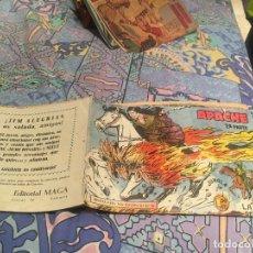 Tebeos: APACHE 2ª Nº 6 EDITORIAL MAGA 1957 ORIGINAL . Lote 175614419