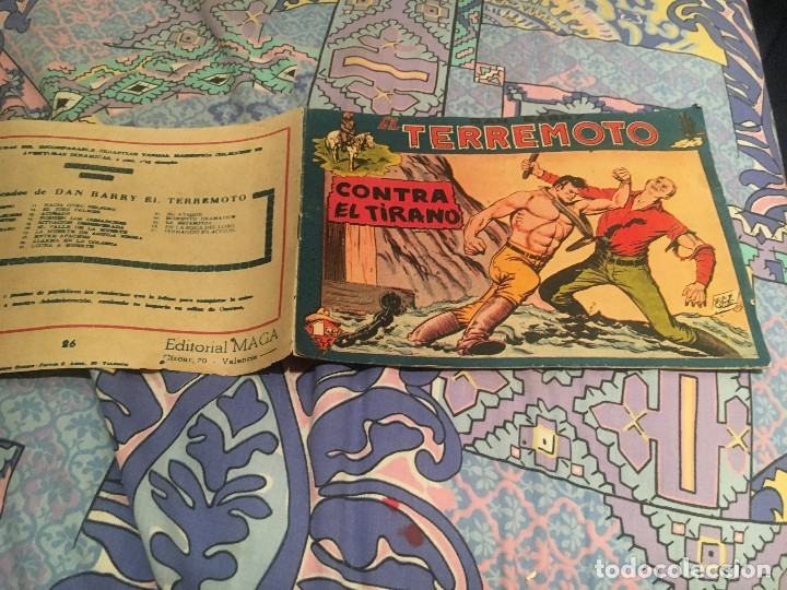 DAN BARRY EL TERREMOTO Nº26 - CONTRA EL TIRANO - EDITORIAL MAGA (Tebeos y Comics - Maga - Dan Barry)