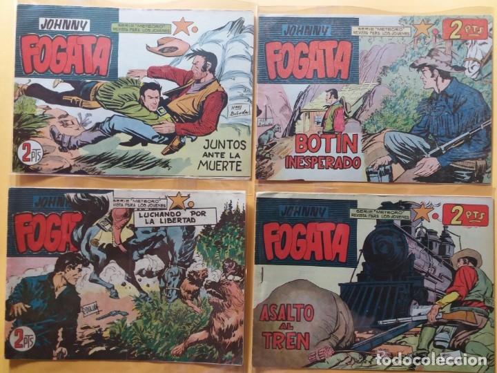 JOHNNY FOGATA ORIGINAL COMPLETA EXCELENTE ESTADO 80 NUMEROS (Tebeos y Comics - Maga - Otros)