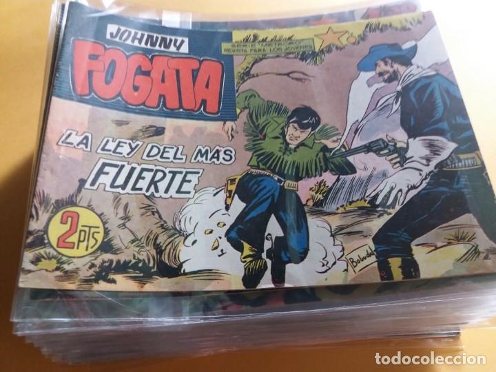 Tebeos: JOHNNY FOGATA ORIGINAL COMPLETA EXCELENTE ESTADO 80 NUMEROS - Foto 4 - 175836639