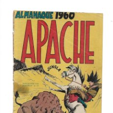 Tebeos: APACHE ALMANAQUE PARA 1960 ES ORIGINAL DIBUJOS DE L. BERMEJO EDITORIAL MAGA.. Lote 175880647