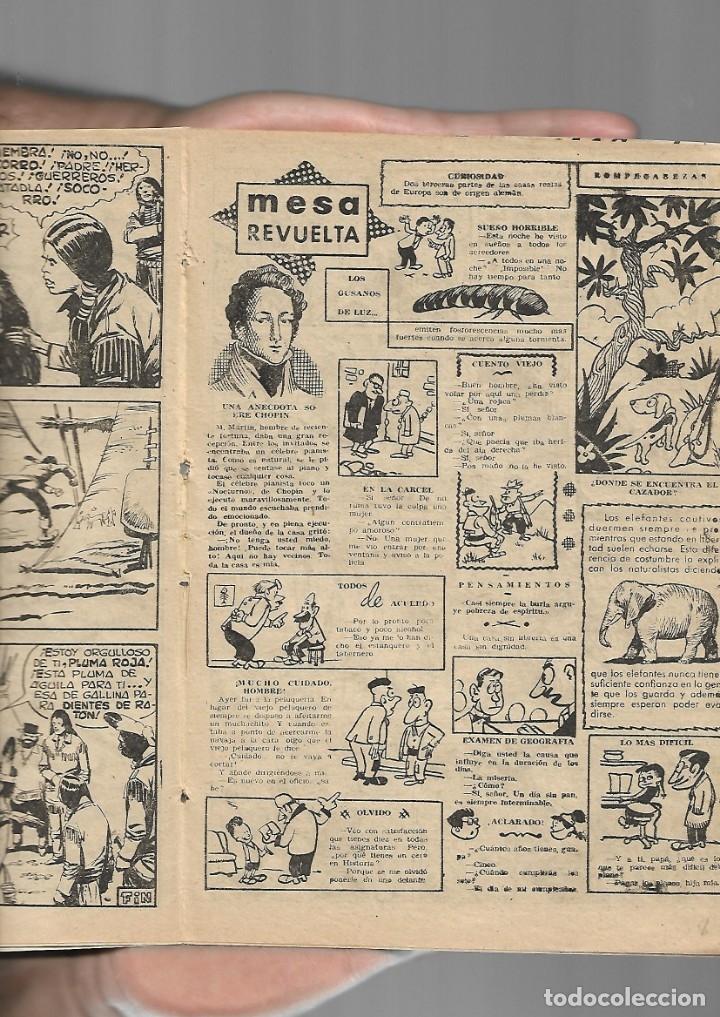Tebeos: Apache Almanaque para 1960 es Original Dibujos de L. Bermejo Editorial Maga. - Foto 4 - 175880647