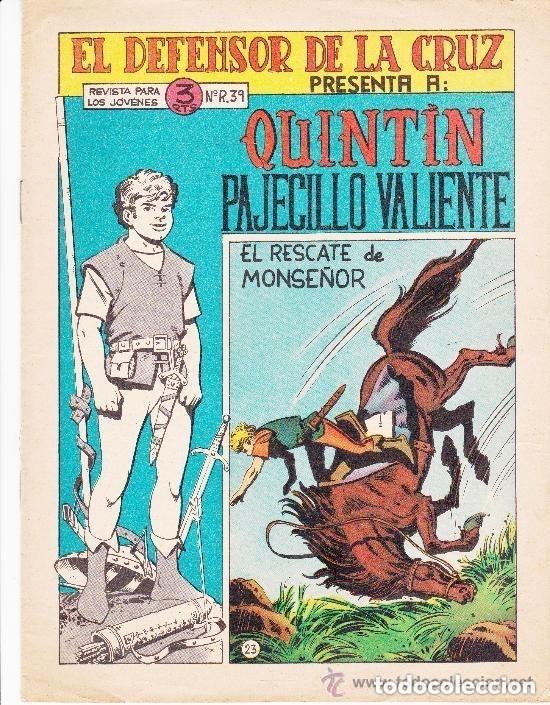 EL DEFENSOR DE LA CRUZ Nº 23-- ÚLTIMO DE LA COLECCION (Tebeos y Comics - Maga - Otros)