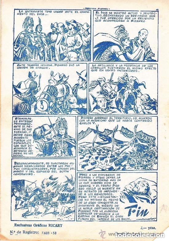 Tebeos: Efemérides Históricas,Francisco Pizarro - nº. 12 - Foto 2 - 176054735