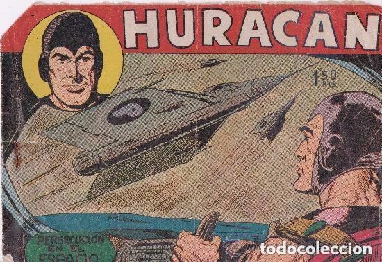 HURACAN ,PERSECUCION EN EL ESPACIO (Tebeos y Comics - Maga - Otros)