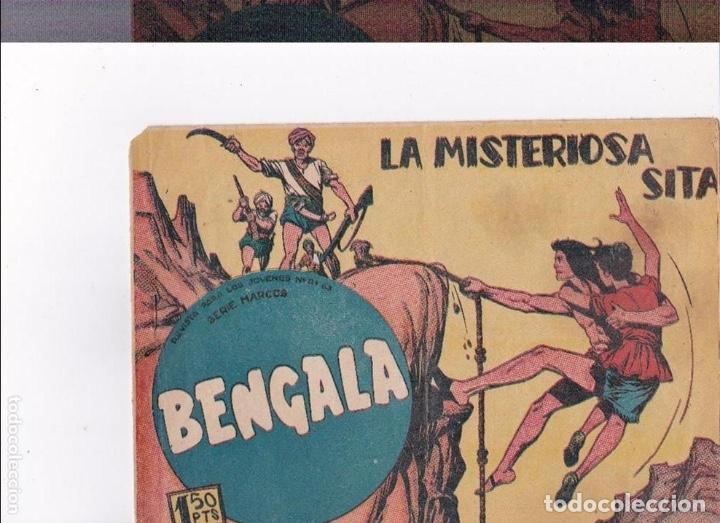 BENGALA-LA MISTERIOSA SITA (Tebeos y Comics - Maga - Bengala)